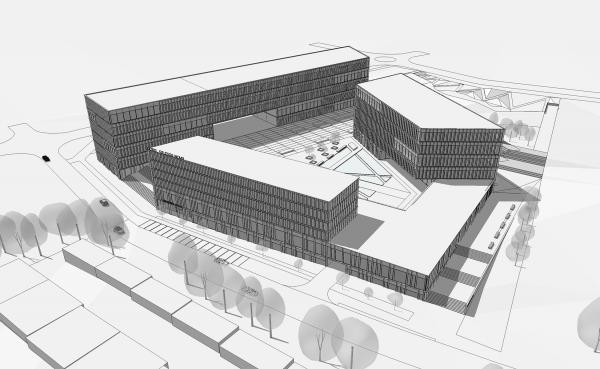 Hotel Katowice Silezja - projekt