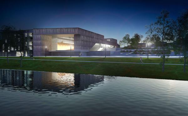 Projekt Sali koncertowej w Oświęcimiu