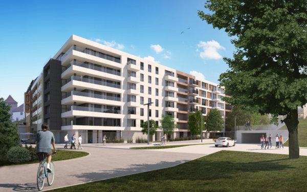 Apartamenty nad Sołą II - koncepcja