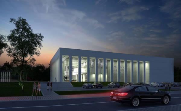 Biblioteka - Świątynia Ksiażki w Czechowicach