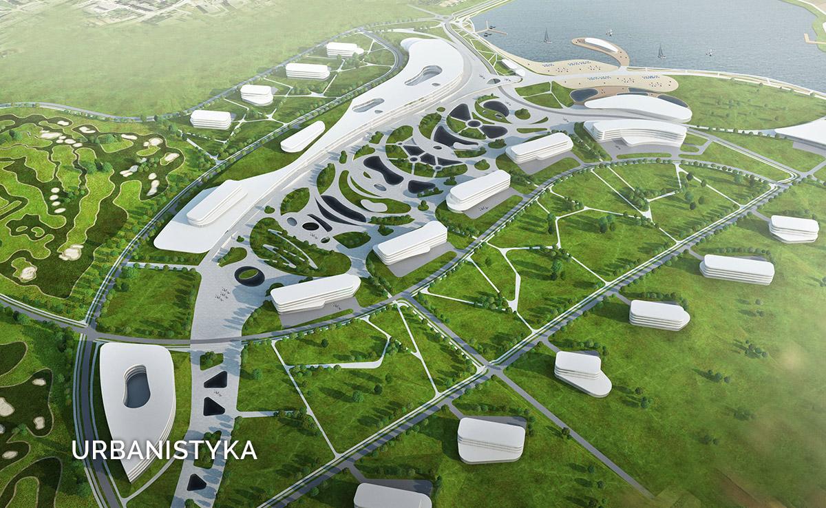 Urbanistyka - najnowsze koncepcje Susuł & Strama Architekci